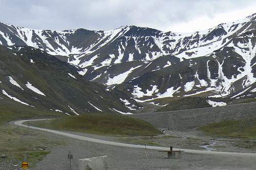 Highway through Atigun Pass