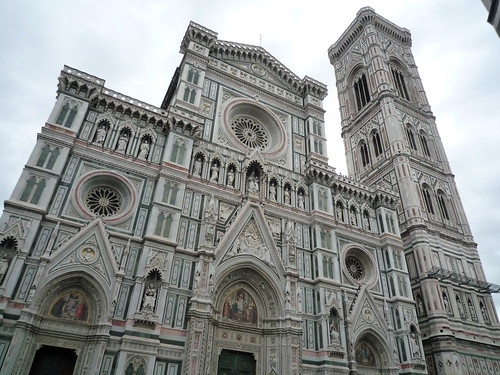 Front of Florence's Duomo