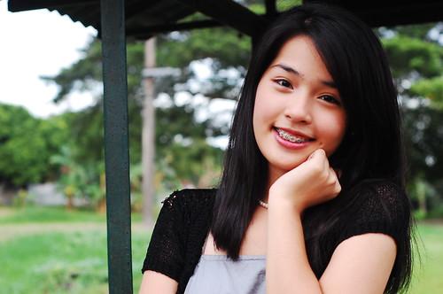 フリー画像| 人物写真| 女性ポートレイト| アジア女性| フィリピン人| 黒髪|      フリー素材|