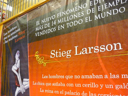 Stieg Larsson in Spanish