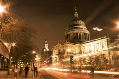 St Paul's Cathedral (Laurent Baumann - My wild side) Tags: city london night londres stpaulscathedral nuit marche2 marche3 crève5 crève2 crève3 crève4 crève1 marche4 marche1