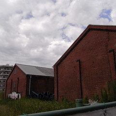 digester and brick wall 04