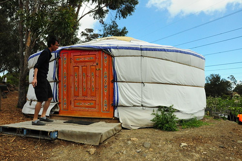 We found a mongolian tent