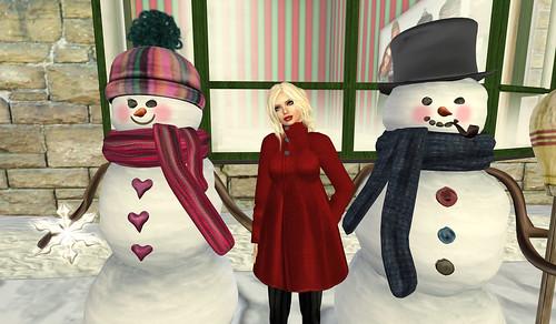 Merry Christmas sim - Snowpeople