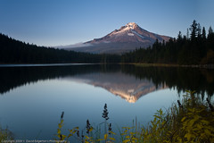 The end of Summer (dedge555) Tags: reflection trillium nikon mthood nikkor 30seconds 30secondexposure trilliumlake 2470mm d700 nikond700 2470mmf28g afsnikkor2470mmf28ged varinduo