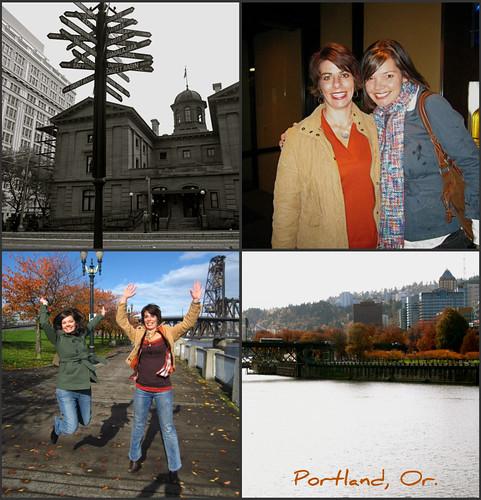 Portland thur collage