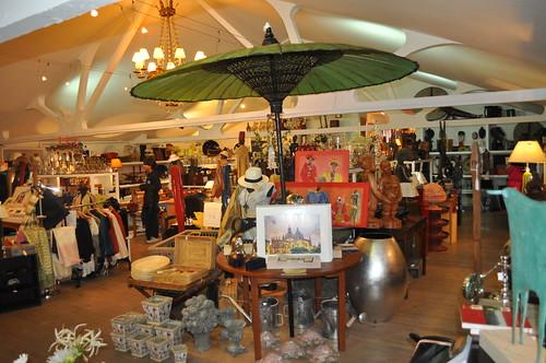 Interior de las Tiendas