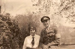 In Remembrance : Uncle Johnny and Aunt May (ngawangchodron) Tags: england canada soldier nurse worldwar1 canadiansoldiers johnnysimpson remebranceday maysimpson