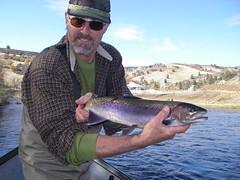 Suji with another wild Klamath River Steelhead