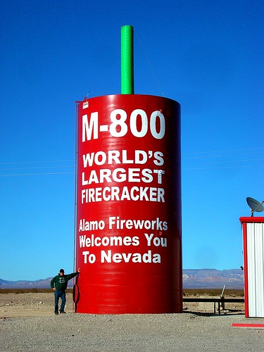 World's Largest Firecracker