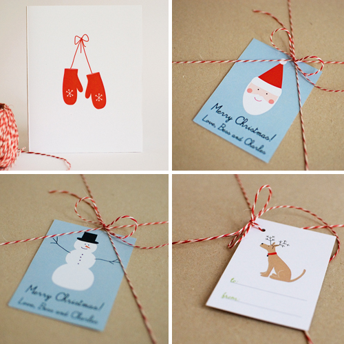 Printable Christmas/Holiday Gift Tags and Cards