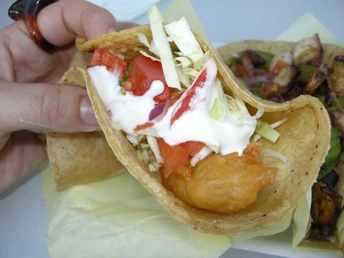 SD Fish Taco Crawl, Stop #3: Mariscos German Truck