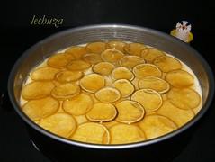Tarta de queso y lima-Entera molde