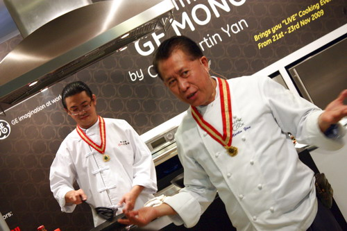 Culinary Experience with GE Monogram by Chef Martin Yan 2