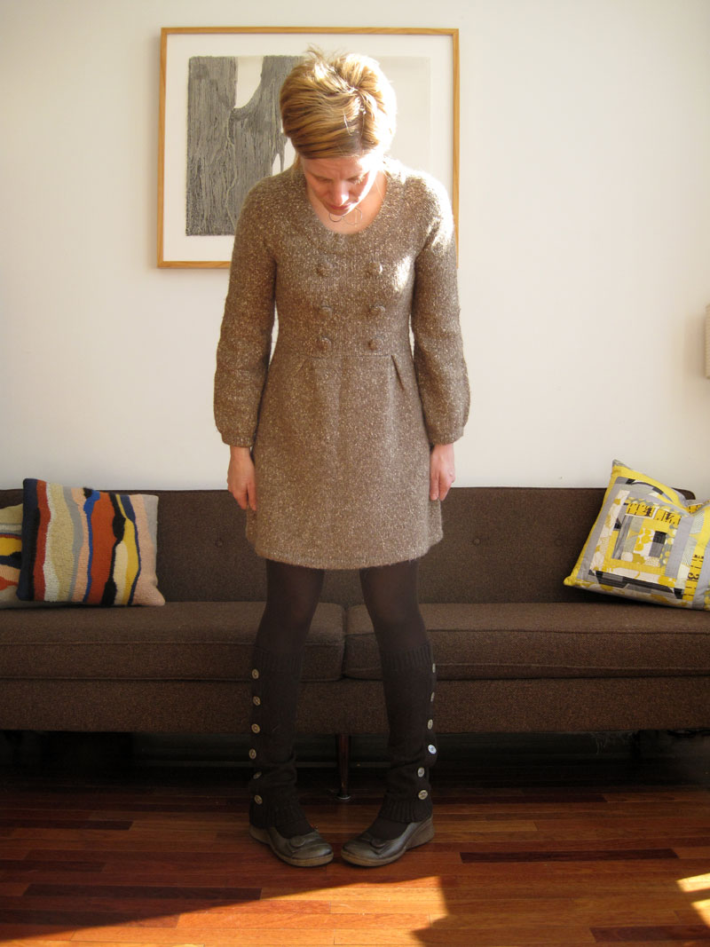 legwarmers: brown(blog only)