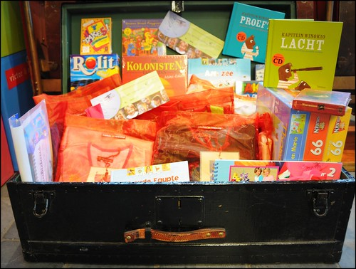 Een Schatkoffer vol cadeautjes!