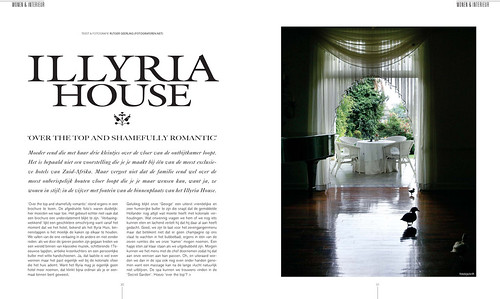 Illyria House for Tulp Magazine, pages 1&2