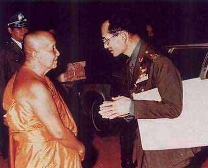 King and a famous Monk