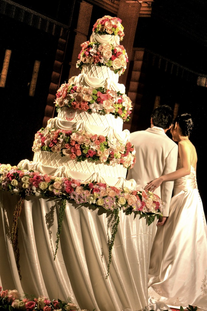 Bangkok Wedding Cake Dream Flower