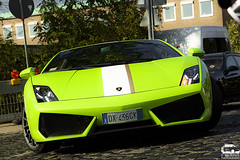 Lamborghini Gallardo LP 550-2 Balboni (Murphy Photography) Tags: new green colors speed photography golden stripe picture first september lp nrw grn rims edition dsseldorf lamborghini 2009 supercar murphy gallardo valentino rar lambo 5502 balboni