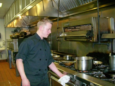 Sotto Sopra Chef Bill Crouse