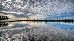 Lochhaven (Sky Noir) Tags: sky clouds port reflections skyscape virginia nikon noir horizon norfolk sigma cargo cranes international 1020 f11 terminals hdr nit waterscape hamptonroads tidewater photomatix containerized d40x skynoir bybilldickinsonskynoircom