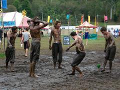 Mud fairies (synthetic adventures) Tags: music festival mud arts dirt 2009 sustainable footbag hackysack glenworthvalley peatsridge
