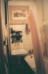 shower room (mariapiessis) Tags: film stpetersburg russia olympus saintpetersburg om2 sanktpeterburg питер россия