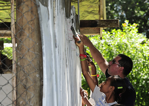 Pacific Partnership Team Rebuilds School in Papua New Guinea