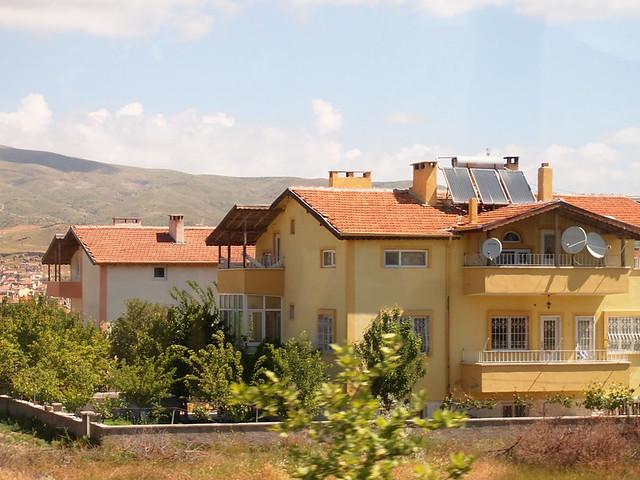 土耳其郊區的房子
