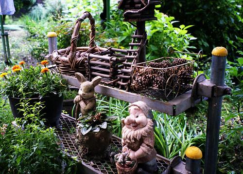 阿部商店の庭