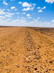 The Selwyn mine road (RooMar) Tags: road travel photography australia 4wd roadtrip outback dirtroad redearth