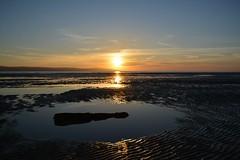 image (jonathon.barnett) Tags: sunset sea sky beach pool driftwood