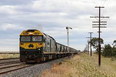 2015-03-23 Pacific National G543 Wallan 9317 (deanoj305) Tags: pacific national victoria g543 locomotive apex stone train quarry 9317 vic au australia kilmore east wallan