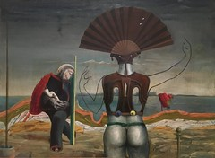 Woman, Old Man, and Flower, Max Ernst (Nemoleon) Tags: february 2017 museumofmodernart maxernst img0904
