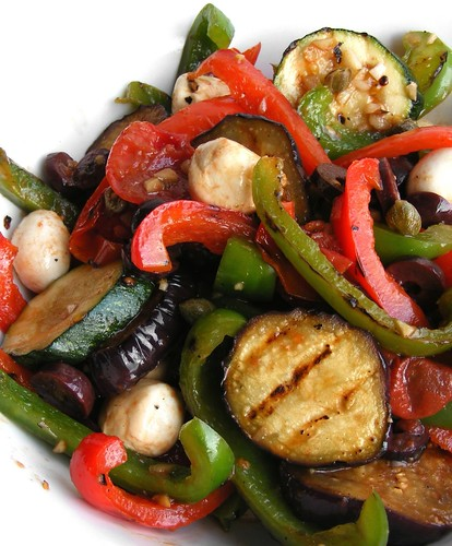grilled vegetable salad roasted vegetable salad roast vegetable rice ...