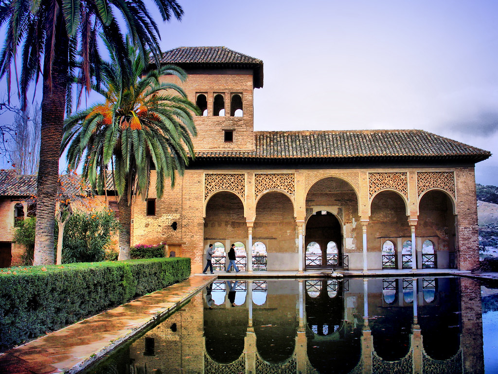 Partal Palace at La Alhambra.