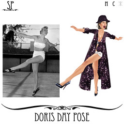 Doris Day Pose