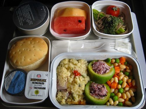 A vegan flying with Air China