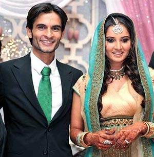 Sania Mirza and Sohrab Mirza