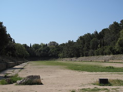 RHODES Akropolis - Ancient Stadium (reconstruction) (Andra MB) Tags: stadium greece grecia stadion griechenland rodos rhodes 2009 hellenistic akropolis yuanistan