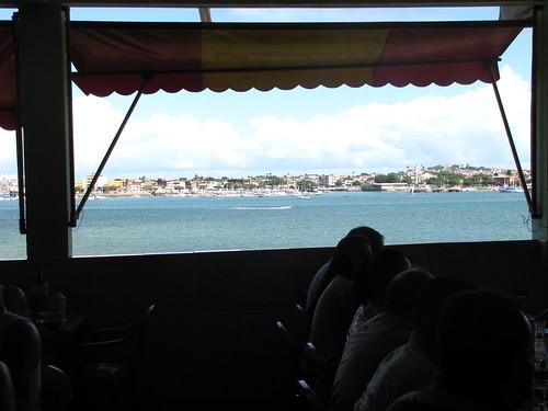 A vista de Boca de Galinha