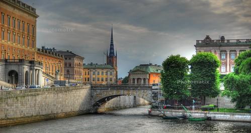 Gamla Stan, Stockholm, HDR