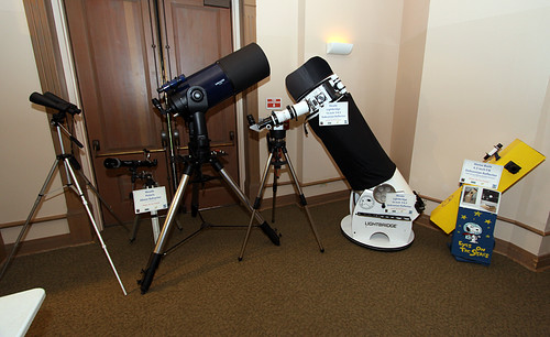 Telescopes on Display