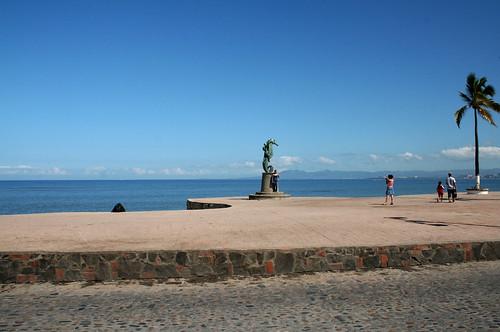 Sea Horse Statue - Puerto Vallarta