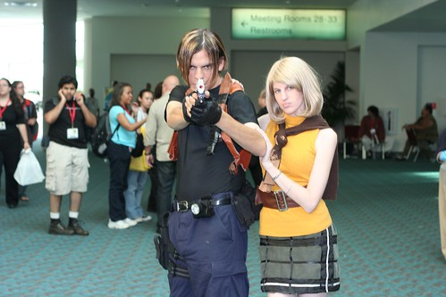 Leon Kennedy and Ashley