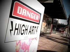 iPhone Pic: Danger High Art (carloslopezdrums) Tags: mobile danger photography camerabag highart carloslopez iphonepic