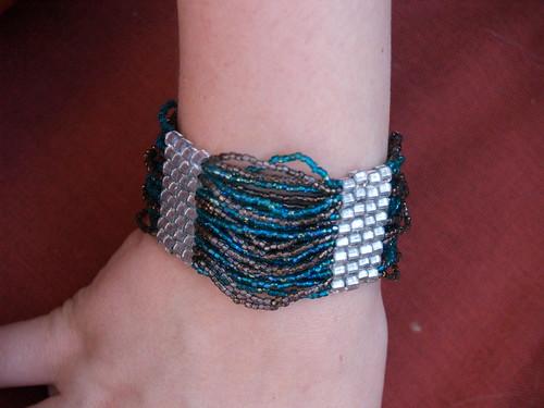 brick stitch bracelet