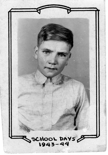 Johnny Compton - Vintage 1944 School Portrait