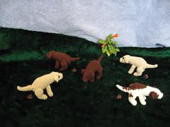 Dog Park (spsandsteel) Tags: park dog dogs pattern sewing crochet craft dump creation crap poop shit waste dogpark amigurumi feces turd pooping